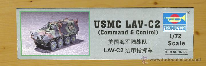 Maquetas: MAQUETA TRUMPETER, USMC LAV-C2 (Command & Control), Escala 1/72, REF 07270 - Foto 5 - 49118553