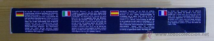 Maquetas: MAQUETA RODEN, Sd.Kfz.233 STUMMEL SCHWERER PANZERKANONENWAGEN, Escala 1/72, REF 706 - Foto 5 - 49189272