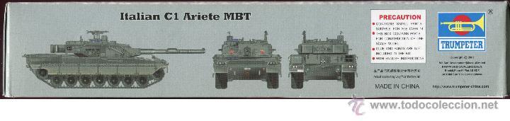 Maquetas: MAQUETA TRUMPETER, ITALIAN C1 ARIETE MBT, Escala 1/72, REF 07250 - Foto 3 - 49204224