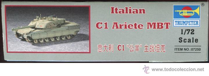 Maquetas: MAQUETA TRUMPETER, ITALIAN C1 ARIETE MBT, Escala 1/72, REF 07250 - Foto 4 - 49204224