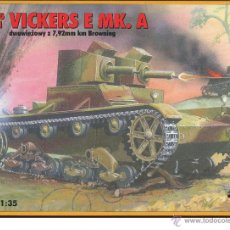 Maquetas: MAQUETA RPM, VICKERS E MK.A, ESCALA 1/35, REF 35071. Lote 49277035