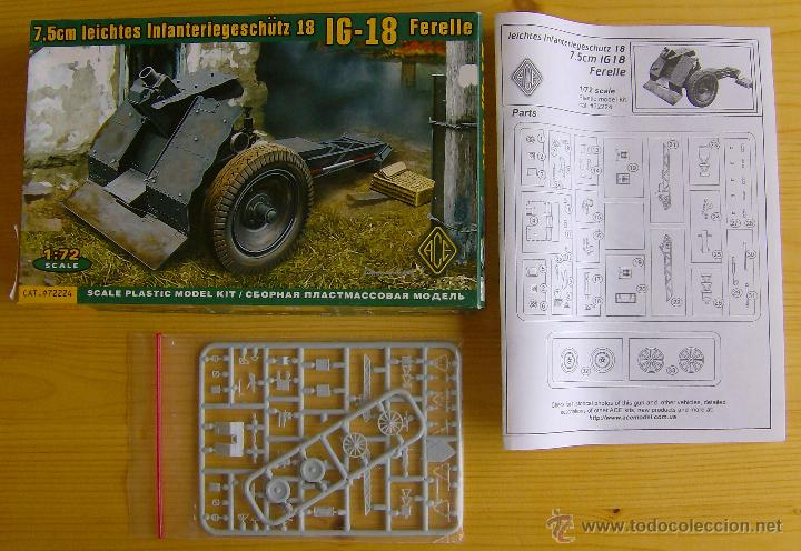Maquetas: MAQUETA ACE, 7.5cm leichtes Infanteriegeschütz 18 IG-18 Ferelle, Escala 1/72, REF 72224 - Foto 2 - 102596359