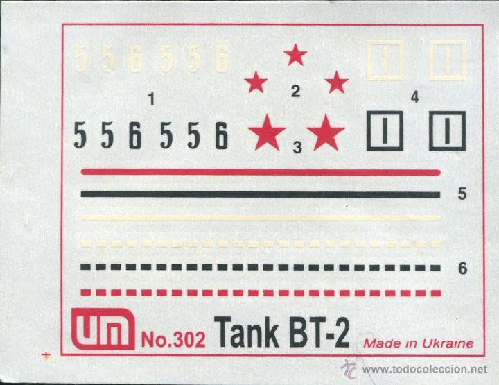 Maquetas: UNIMODEL, Wheel - track tank BT-2, Escala 1/72, REF 302 - Foto 4 - 49364652