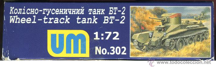 Maquetas: UNIMODEL, Wheel - track tank BT-2, Escala 1/72, REF 302 - Foto 7 - 49364652