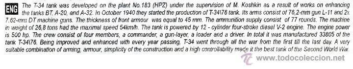 Maquetas: UNIMODEL Tank T-34\76 (1940) with L-11 gun, Escala 1/72, REF 336 - Foto 10 - 49365012