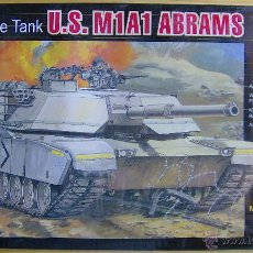 Maquetas: MAQUETA LEE, U.S. M1A1 ABRAMS, ESCALA 1/72, REF 09006. RETRACTILADA. Lote 49366507