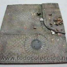 Maquetas: BASE DIORAMA CALLE ADOQUINADA RUINAS 1/35 NUEVO. Lote 130042698