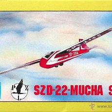 Maquetas: MAQUETA PZW 72 1/72 SZD-22 MUCHA. Lote 28757355