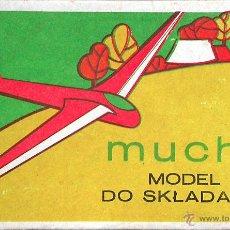 Maquetas: MAQUETA PZW 72 1/72 SZD-22 MUCHA - VINTAGE. Lote 37341501