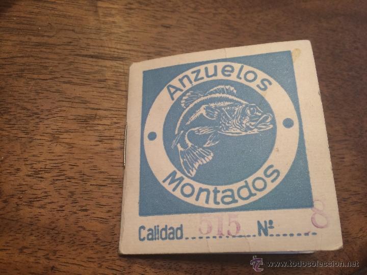Maquetas: Antiguos anzuelos para pesca sin estrenar - Foto 2 - 49600328