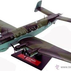 Maquetas: JUNKERS JU 290, LUTWAFFE, 1/144, 12 BOMBARDEROS DE LA SEGUNDA GUERRA MUNDIAL, ALTAYA. Lote 238733940