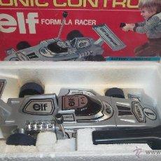 Maquetas: SONIC CONTROL ELF FORMULA RACER MADE IN HONG KONG. Lote 49655115