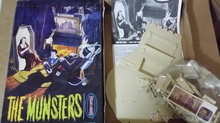 Maquetas: The Munsters (La Familia Monster) Maqueta para montar y pintar abierta pero completa. Una Joya antig - Foto 2 - 49696390