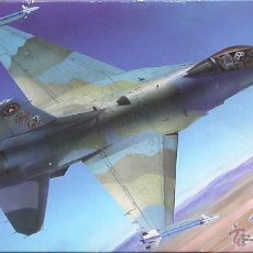 Maquetas: MAQUETA HASEGAWA 1/72 GENERAL DYNAMICS F-16N 'AGRESSOR FALCON' #CT18 (02718). Lote 27305257