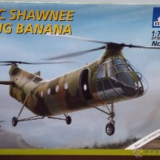 Maquetas: HELICOPTER H-21C SHAWNEE FLYING BANANA. ITALERI 1/72. Lote 50202389