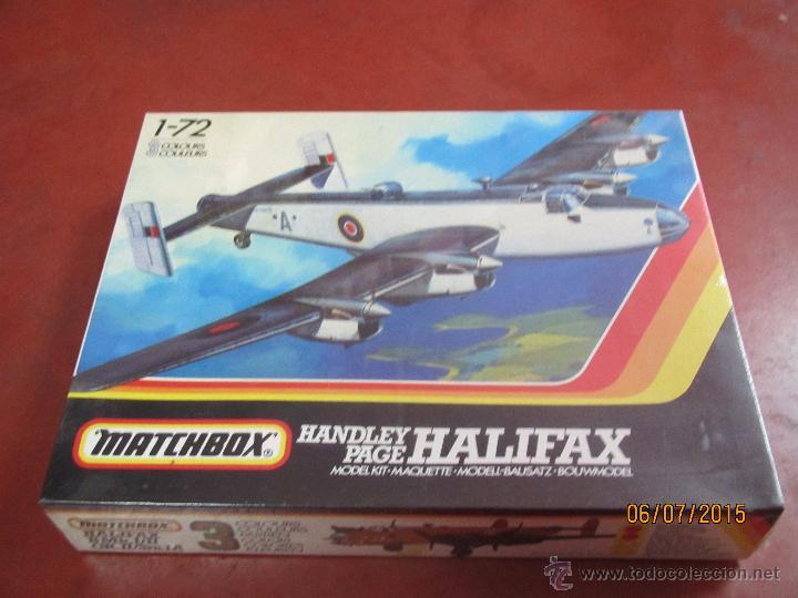Maquetas: Super Descatalogado Avión HALIFAX Modelo en Kit a Escala 1:72 de MATCHBOX- Año 1996 - Foto 2 - 50207111