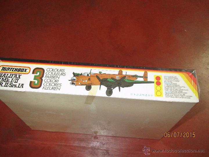 Maquetas: Super Descatalogado Avión HALIFAX Modelo en Kit a Escala 1:72 de MATCHBOX- Año 1996 - Foto 3 - 50207111