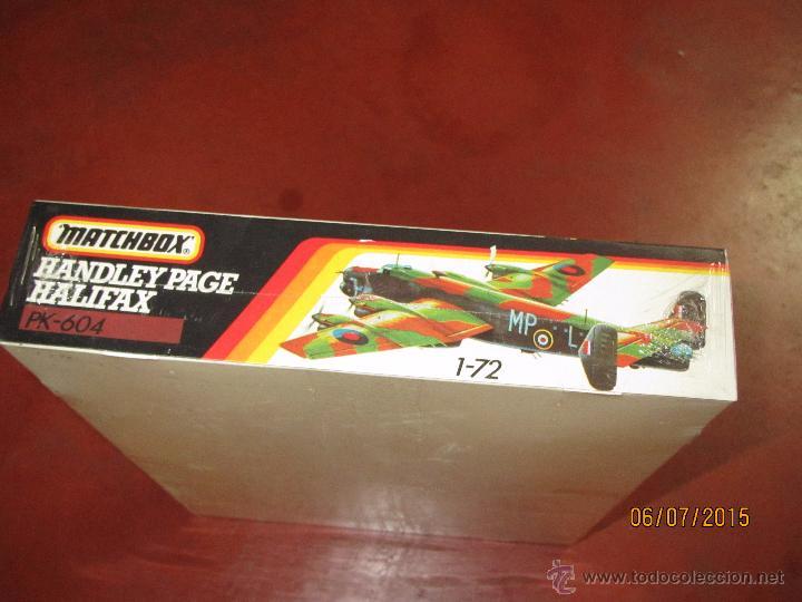 Maquetas: Super Descatalogado Avión HALIFAX Modelo en Kit a Escala 1:72 de MATCHBOX- Año 1996 - Foto 4 - 50207111