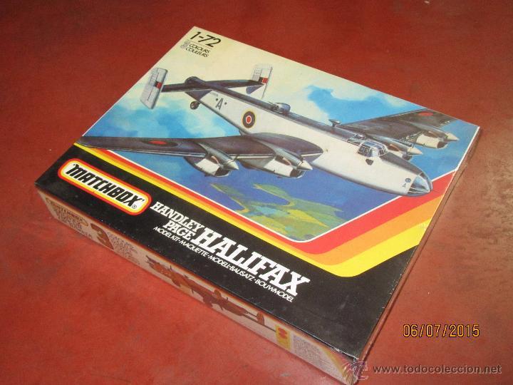 Maquetas: Super Descatalogado Avión HALIFAX Modelo en Kit a Escala 1:72 de MATCHBOX- Año 1996 - Foto 5 - 50207111