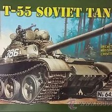 Maquetas: T-55 SOVIET TANK. ITALERI 1/35. Lote 50423713