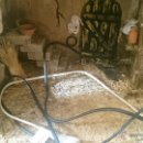 Maquetas: MAQUETA CON FUENTE Y LUZ. Lote 50456124