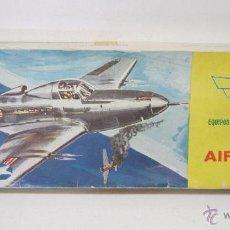 Maquettes: ANTIGUA MAQUETA AVIÓN DE MADERA BELL AIRCOBRA WWII ARS FABRICADO EN ESPAÑA AÑOS 60. Lote 50499574