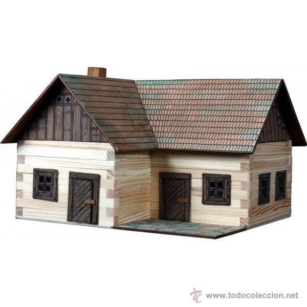 Walachia kit de montaje de madera casa rural vendido - Casa rural de madera ...