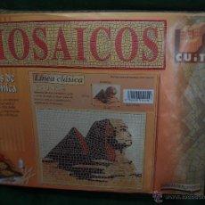 Maquetas: ESFINGE MOSAICOS DE CUIT. Lote 126956678