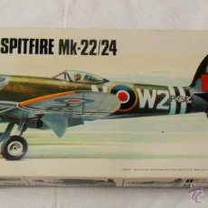 Maquetas: MATCHOBOX MODEL-KIT 1/32 AVION SPITFIRE MK-22/24. Lote 51087558