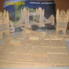 Maquetas: TOWER BRIDGE, WOODCRAF. Lote 51103703
