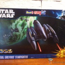 Maquetas: STAR WARS - CLONE WARS - GENERAL GRIEVOUS STARFIGHTER - REVELL - 06671 – EASYKIT - 1:32 - NUEVO. Lote 51491262