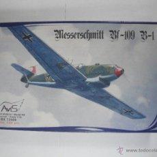 Maquetas: MESSERSCHMITT BF-109 B-1 DE AVIS A 1/72 . Lote 51530515