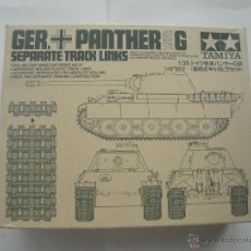 Maquetas: GERMAN PANTHER SEPARATE TRACKS DE TAMIYA 1/35. Lote 51531574