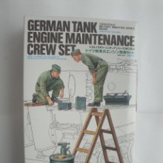 Maquetas: GERMAN TANK ENGINE MAINTENANCE CREW SET DE TAMIYA 1/35 . Lote 51531676