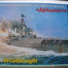 Maquetas: HMS DREADNOUGHT DE ZVEZDA 1/350. Lote 51531863
