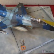 Maquetas: GENERAL DYNAMICS F-16A. USAF ESCUADRÓN. Lote 38873811