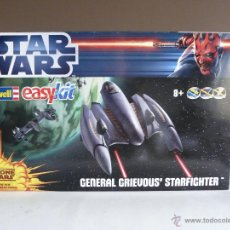 Maquetas: MAQUETA STAR WARS - REVELL EASY KIT - GENERAL GRIEVOUS STARFIGHTER - NAVE - THE CLONE WARS . Lote 51778107