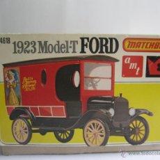 Maquetas: MATCHBOX 23 MODEL T FORD MOTOR DELIVERY VAN BUDWEISER 1923 ESCALA 1:25 PK 4618 CAMIONETA PLÁSTICO. Lote 51932446