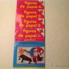 Macchiette: FIGURAS DE PAPEL , PAPIROFLEXIA ( SENA) . Lote 52028948