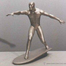 Maquetas: SILVER SURFER MAQUETA PARA MONTAR Y PINTAR MARCA HORIZON 1/6 VINILO MARVEL. Lote 52129164