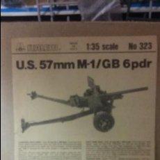 Maquetas: INSTRUCCIONES DE MONTAJE US 57 MM M 1 / GB 6 PDR. ITALERI 1/35. Lote 52390821