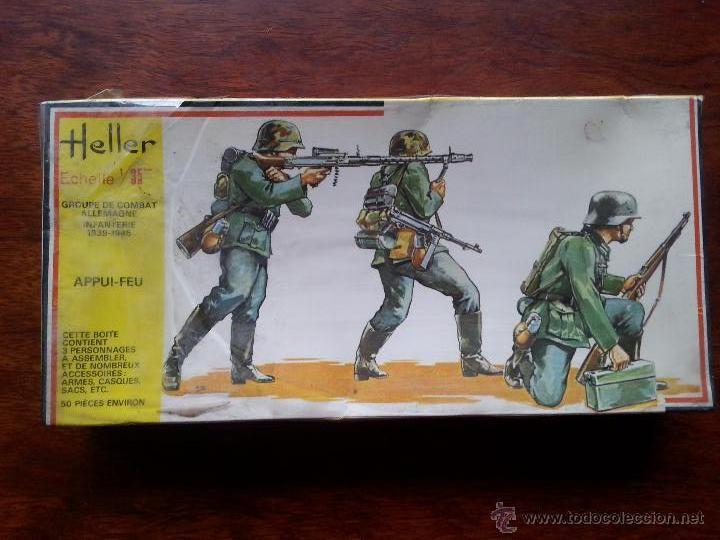 MAQUETA HELLER ESCALA 1/35. AÑOS 1970. (Juguetes - Modelismo y Radiocontrol - Maquetas - Militar)