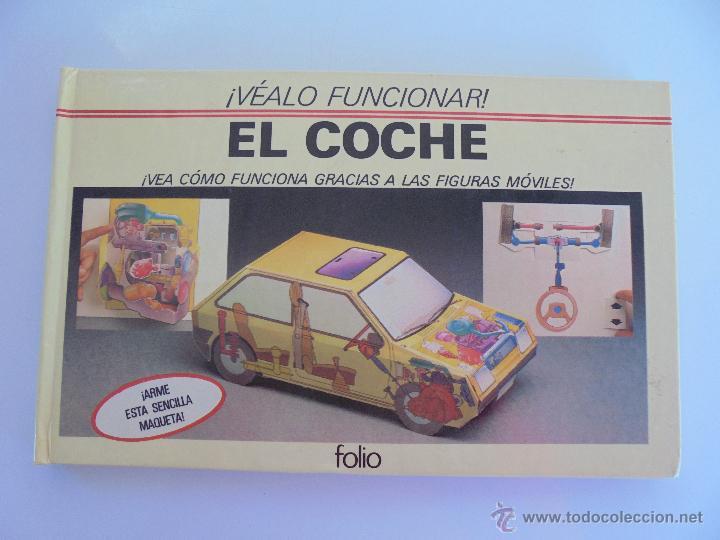 Maquetas: VÉALO FUNCIONAR EL COCHE. VÉALO FUNCIONAR EL AVIÓN. INCLUYE MAQUETA. EDITA FOLIO 1984-85. - Foto 4 - 52711137