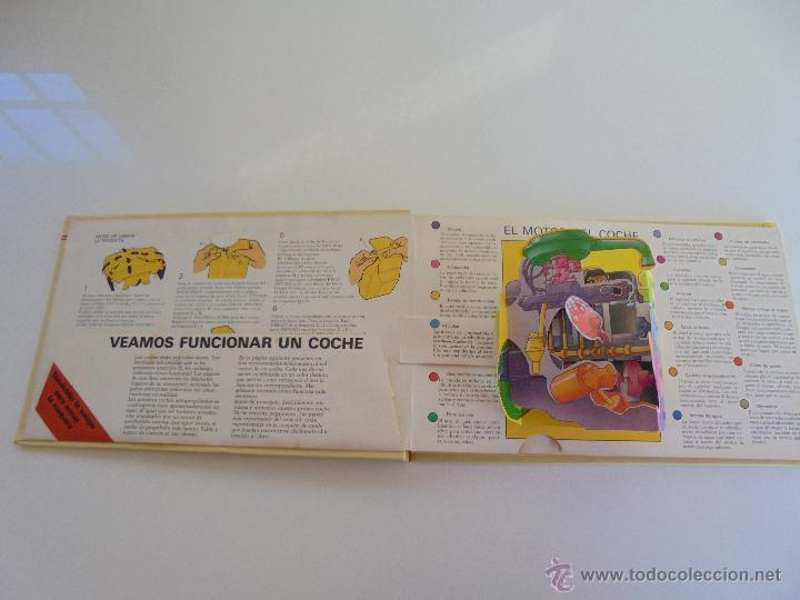 Maquetas: VÉALO FUNCIONAR EL COCHE. VÉALO FUNCIONAR EL AVIÓN. INCLUYE MAQUETA. EDITA FOLIO 1984-85. - Foto 9 - 52711137