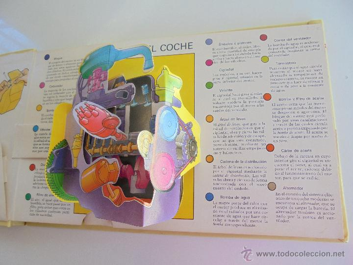 Maquetas: VÉALO FUNCIONAR EL COCHE. VÉALO FUNCIONAR EL AVIÓN. INCLUYE MAQUETA. EDITA FOLIO 1984-85. - Foto 10 - 52711137