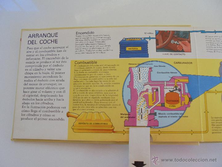 Maquetas: VÉALO FUNCIONAR EL COCHE. VÉALO FUNCIONAR EL AVIÓN. INCLUYE MAQUETA. EDITA FOLIO 1984-85. - Foto 12 - 52711137
