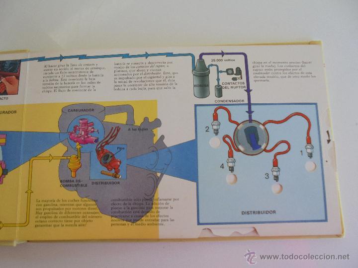 Maquetas: VÉALO FUNCIONAR EL COCHE. VÉALO FUNCIONAR EL AVIÓN. INCLUYE MAQUETA. EDITA FOLIO 1984-85. - Foto 13 - 52711137