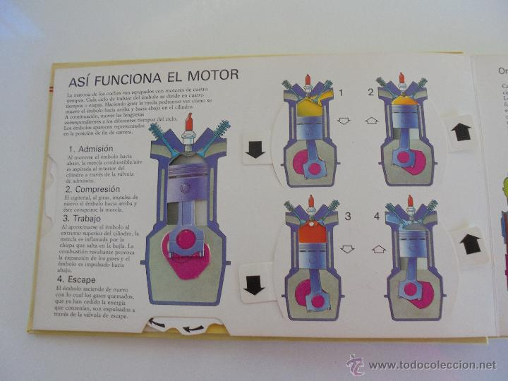 Maquetas: VÉALO FUNCIONAR EL COCHE. VÉALO FUNCIONAR EL AVIÓN. INCLUYE MAQUETA. EDITA FOLIO 1984-85. - Foto 14 - 52711137