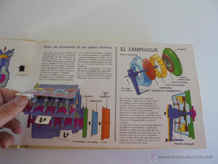 Maquetas: VÉALO FUNCIONAR EL COCHE. VÉALO FUNCIONAR EL AVIÓN. INCLUYE MAQUETA. EDITA FOLIO 1984-85. - Foto 15 - 52711137