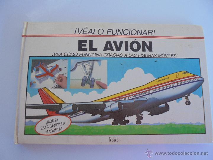 Maquetas: VÉALO FUNCIONAR EL COCHE. VÉALO FUNCIONAR EL AVIÓN. INCLUYE MAQUETA. EDITA FOLIO 1984-85. - Foto 26 - 52711137